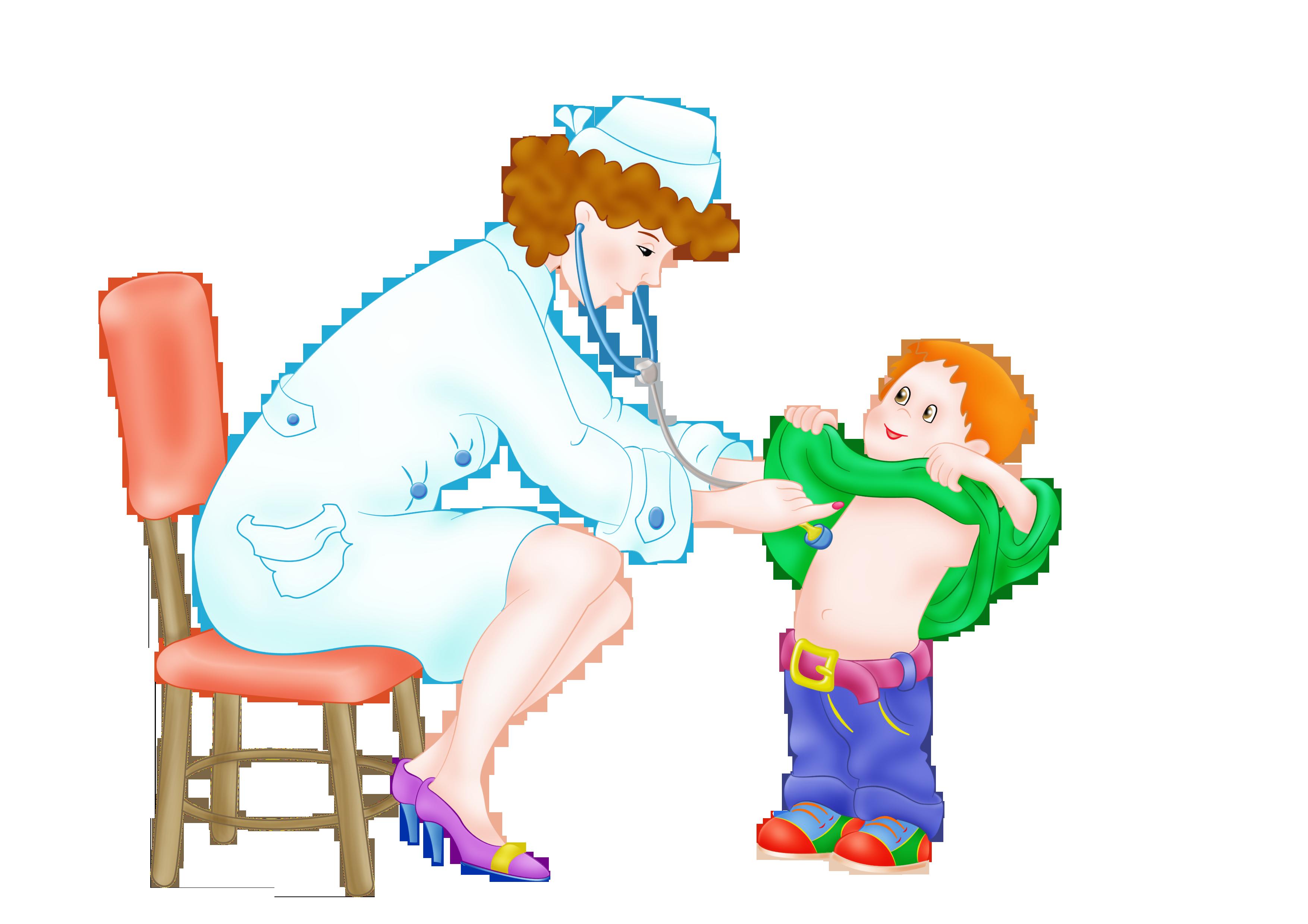 Картинки врача с детьми для детей