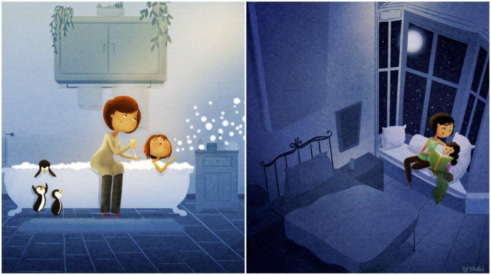 Бессонные ночи мамы картинки